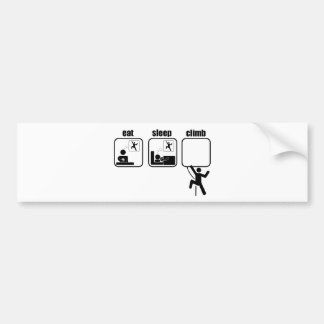 Eat. Sleep. Climb Bumper Sticker