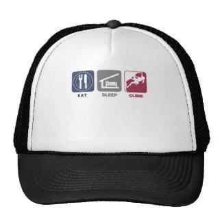 Eat Sleep Climb - Girl Trucker Hat