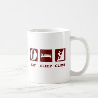 Eat Sleep Climb T-shirt and gift design Mugs