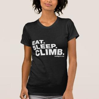Eat Sleep Climb Tshirts
