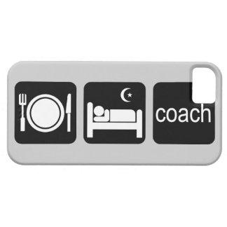 eat sleep coach iPhone 5 covers