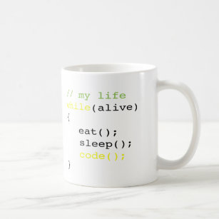 a4fc9375edf Eat Sleep Code Mugs - Coffee & Travel Mugs | Zazzle