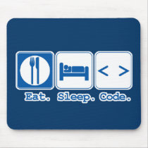 Eat Sleep Code (HTML)