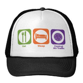 Eat Sleep Control Air Traffic Trucker Hat