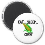 Eat Sleep CORN Magnets