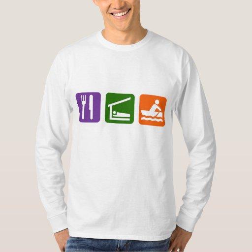 Eat Sleep Crewing T Shirt