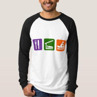 Eat Sleep Crewing Tee Shirt