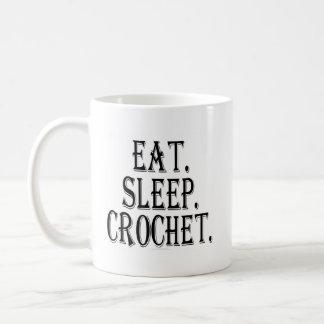 Eat. Sleep. Crochet. (mug) Coffee Mug