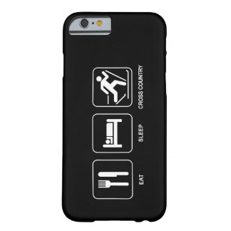 Eat Sleep Cross Country Barely There iPhone 6 Case