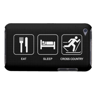 Eat Sleep Cross Country Barely There iPod Case