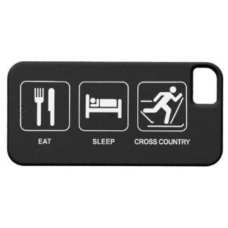Eat Sleep Cross Country iPhone 5 Cover
