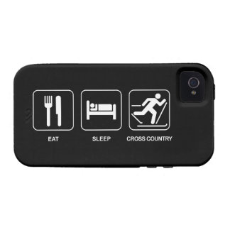 Eat Sleep Cross Country Case For The iPhone 4