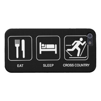 Eat Sleep Cross Country Cover For iPhone 5