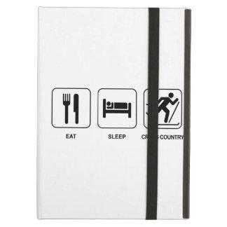 Eat Sleep Cross Country iPad Case