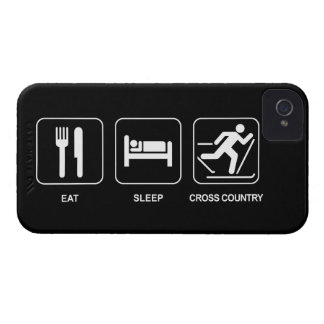 Eat Sleep Cross Country iPhone 4 Case-Mate Case