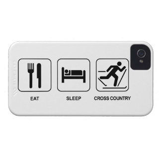 Eat Sleep Cross Country iPhone 4 Cover