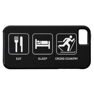 Eat Sleep Cross Country iPhone 5 Case