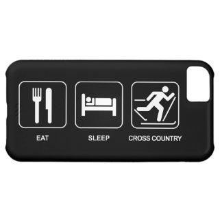 Eat Sleep Cross Country iPhone 5C Cases