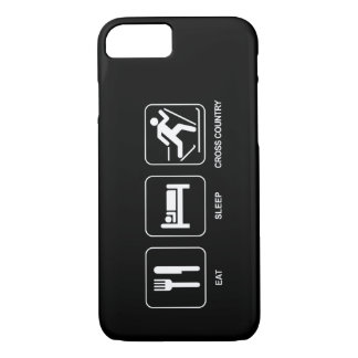 Eat Sleep Cross Country iPhone 7 Case