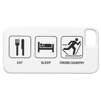 Eat Sleep Cross Country iPhone SE/5/5s Case