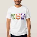 Eat Sleep Cross-stitch Tee Shirt