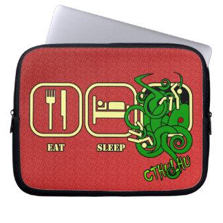 Eat - Sleep - Cthulhu Computer Sleeve