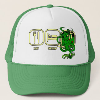 Eat - Sleep - Cthulhu Hat