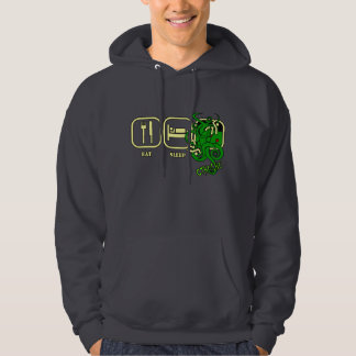 Eat - Sleep - Cthulhu Hooded Sweatshirt