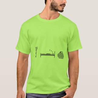 Eat - Sleep - Curling T-Shirt