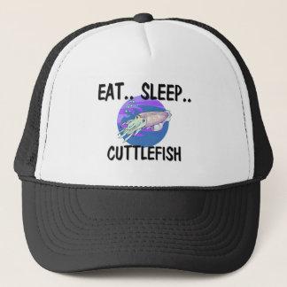 Eat Sleep CUTTLEFISH Trucker Hat