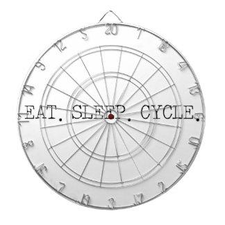 Eat Sleep Cycle Dart Boards