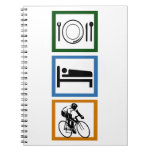 Eat Sleep Cycling Note Book
