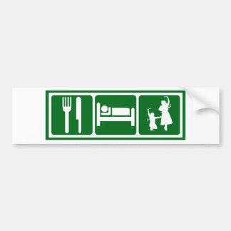 Eat,Sleep,Dabkeh Bumper Sticker