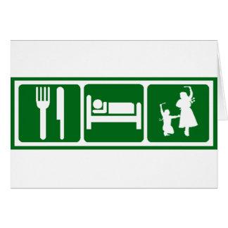 Eat,Sleep,Dabkeh Card