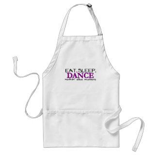 Eat Sleep Dance Adult Apron