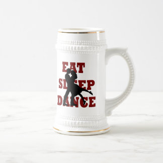 Eat, Sleep, Dance Beer Stein