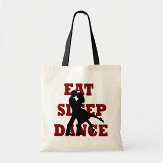 Eat, Sleep, Dance Budget Tote Bag