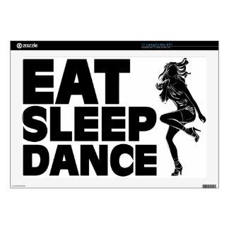 Eat Sleep Dance Laptop Skin