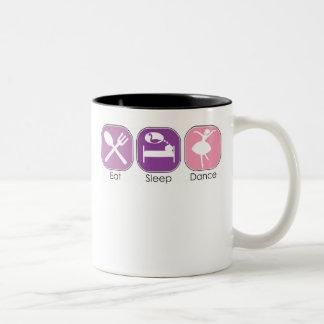 Eat Sleep Dance Mugs