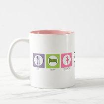 Eat Sleep Dance! Two-Tone Coffee Mug