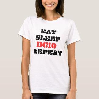 Eat, Sleep DC10, Repeat Ibiza T-shirt