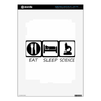 EAT SLEEP DECALS FOR iPad 3