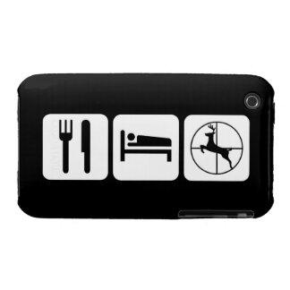 Eat Sleep Deer Hunt Case-Mate iPhone 3 Cases