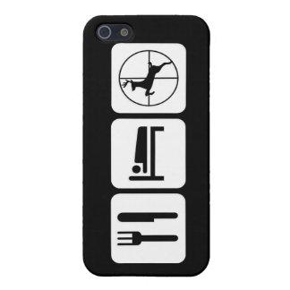 Eat Sleep Deer Hunt Funny Hunting Case For iPhone SE/5/5s