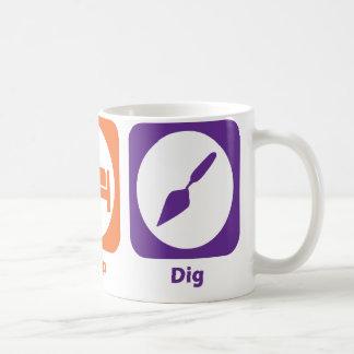 Eat Sleep Dig Coffee Mug