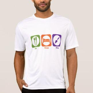 Eat Sleep Dig T Shirts
