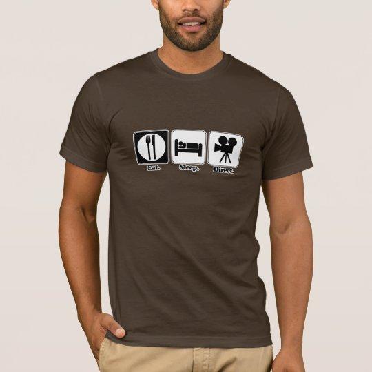 eat sleep direct T-Shirt