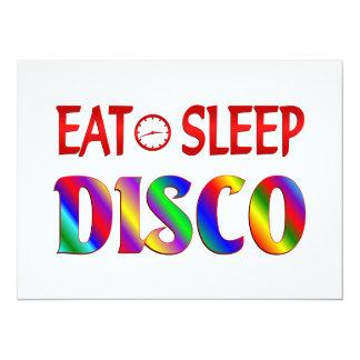 Eat Sleep Disco Personalized Invitations