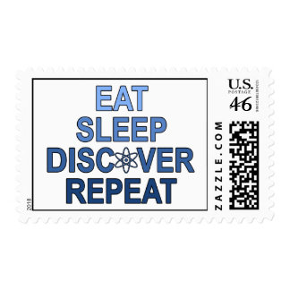 Eat Sleep Discover Repeat Stamps