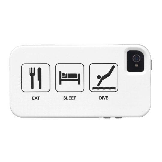Eat Sleep Dive iPhone 4/4S Case